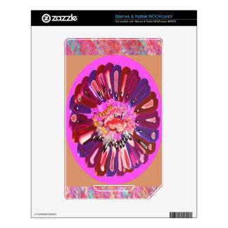Flower Talk - Open your heart NOOK Color Decals