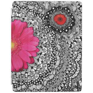Flower Tangle iPad Cover