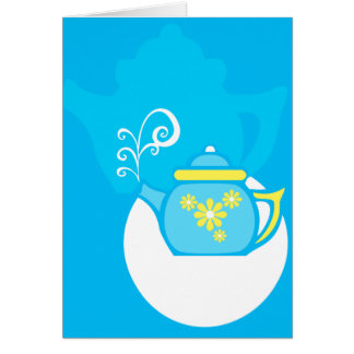 Flower Tea Card