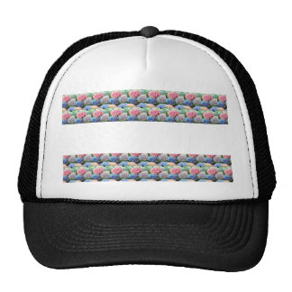 Flower Template Strip add TEXT IMAGE Photo DIY FUN Trucker Hats
