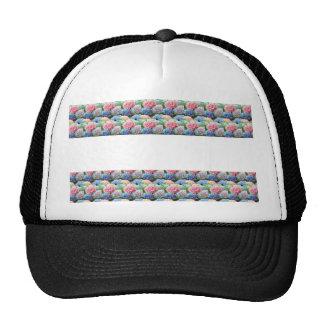 Flower Template Strip add TEXT IMAGE Photo DIY FUN Trucker Hat