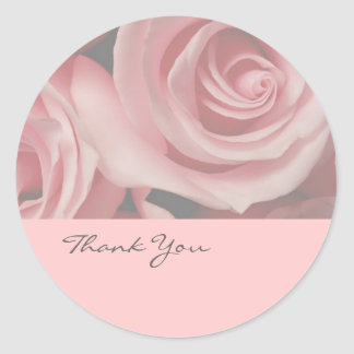 Flower Thank You Stickers