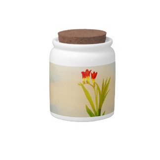 Flower theme Candy Jar