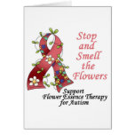 Flower Therapy for Autism Cards