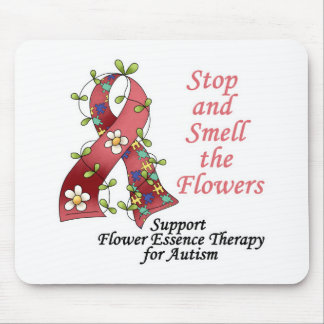 Flower Therapy for Autism Mouse Pad