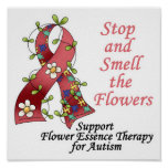 Flower Therapy for Autism Posters