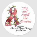 Flower Therapy for Autism Sticker