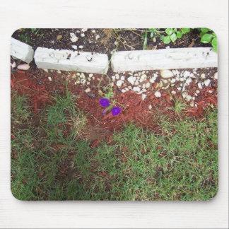 Flower Through the Cracks Mousepad