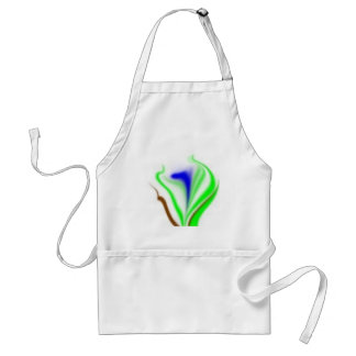 flower time adult apron