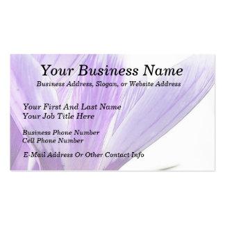 Flower Time - Spring Crocus! Business Card