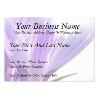 Flower Time - Spring Crocus! Large Business Card