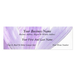 Flower Time - Spring Crocus! Mini Business Card