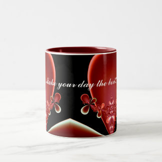 Flower Top Make your day the best Mug