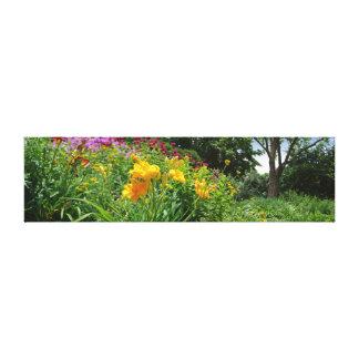 Flower Trail Canvas Print