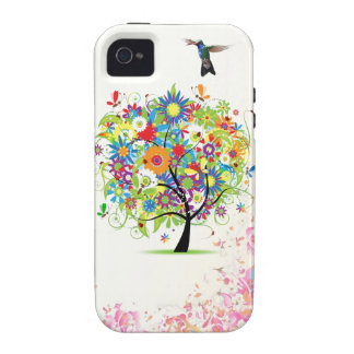 Flower Tree iPhone 4/4S Covers