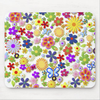 Flower Tree Mouse Pad