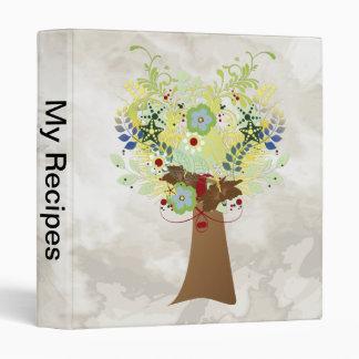 Flower Tree Vinyl Binder