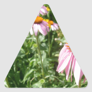Flower Triangle Sticker