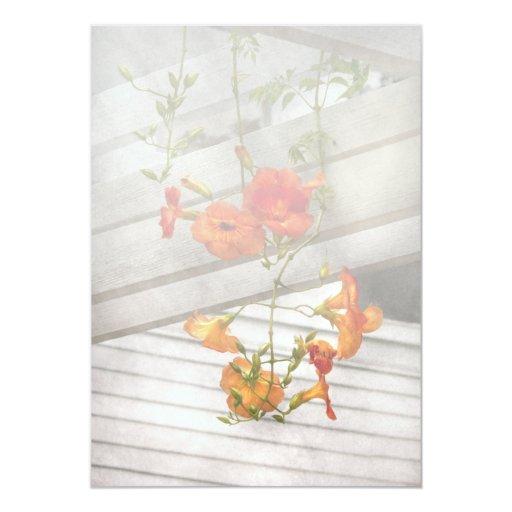 Flower - Trumpet melodies Card