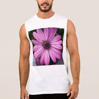 flower sleeveless shirts