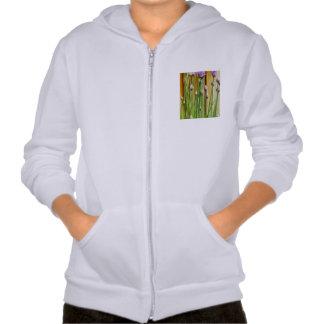 Flower Hooded Sweatshirt