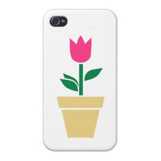 Flower tulip iPhone 4/4S case