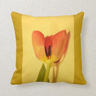 Flower Tulip Throw Pillows