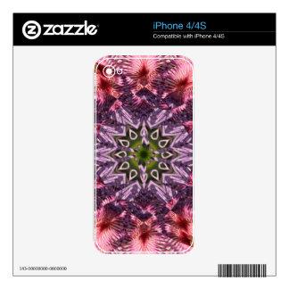 Flower Twist Mandala 2015 iPhone 4S Decals