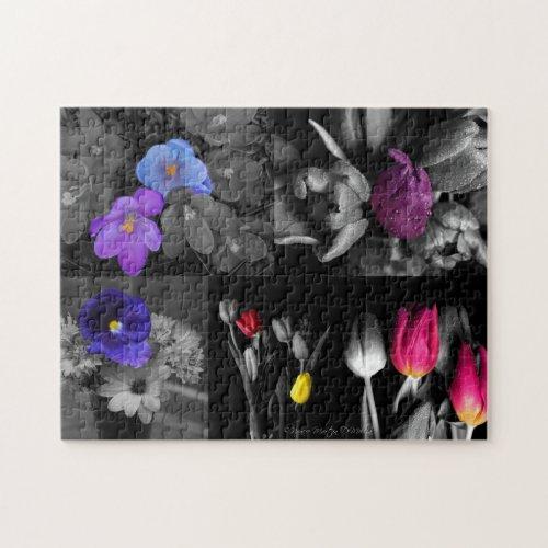 Flower Uniquely Puzzle puzzle