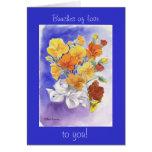 Flower Valentine Greeting Cards