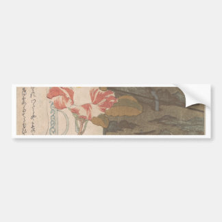 Flower Vase and Lacquer Box - Chinese Bumper Sticker