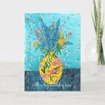 Flower Vase Birthday | Greeting Card