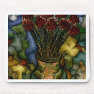 Flower Vase by rafi talby Mouse Pads