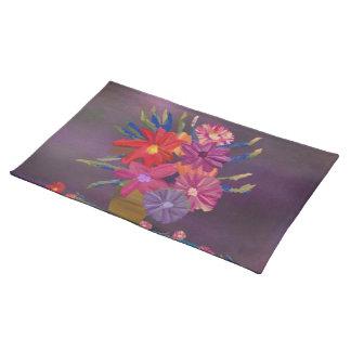 Flower Vase Custom Placemats
