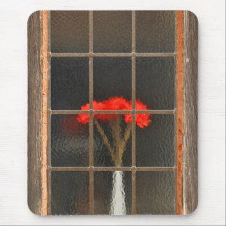 Flower vase mouse pad