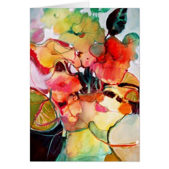 Flower Vase No. 2 • Michelle Abrams - card