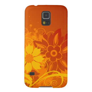 Flower Vectors Case For Galaxy S5