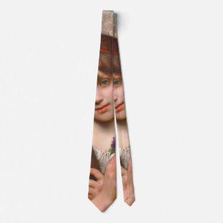 Flower Vendor 1874 Neck Tie