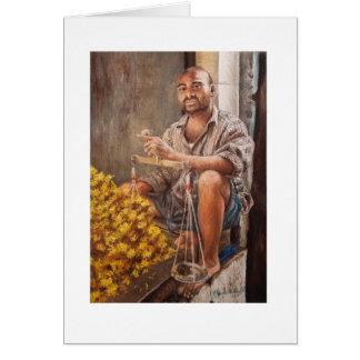 Flower Vendor Card