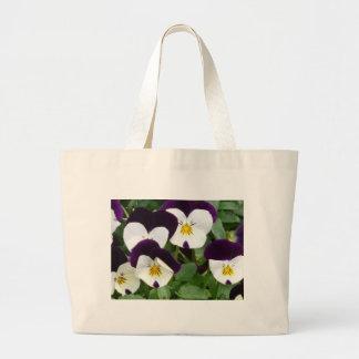 flower,viola tote bag