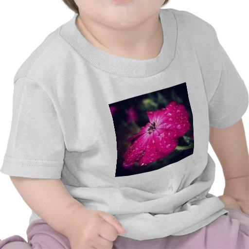 Flower w/ raindrops shirts