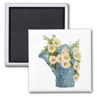 Flower Watering Can Magnet