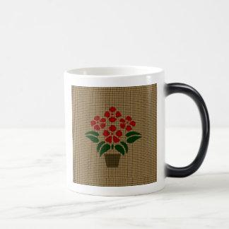 Flower Weave-Like Magic Mug