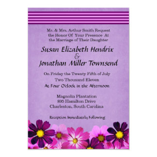 Flower Wedding Invitations