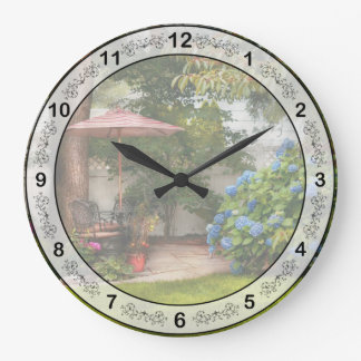 Flower - Westfield, NJ - Private paradise Wall Clocks
