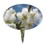 Flower whites decoración para tarta