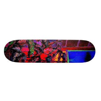 flower window skateboard