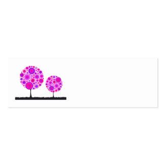 Flower Wishing Tree Purple Wedding Place Card Business Cards