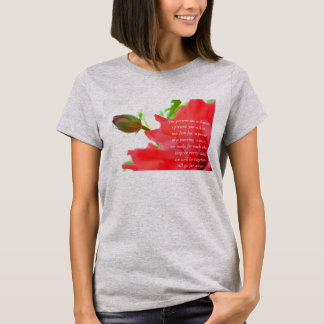 Flower with a Rhyme T-Shirt
