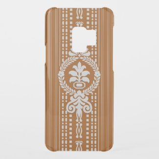Flower with laurel wreath... uncommon samsung galaxy s9 case